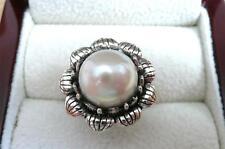 Pearl Silver Asian Rings