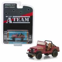 GREENLIGHT 44840 C THE A-TEAM TV SERIES JEEP CJ-7 DIECAST MODEL CAR 1/64 RED