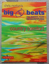 Chris NORTON BIG Beats-Paese Comfort-facile TASTIERA PEZZI LIBRO + CD