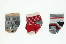 Smartwool 272427 Baby Bootie Batch Lunar Grey Heather Socks Size 12 Months