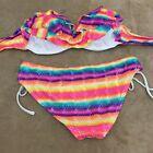 ORageous Womens Multicolor Lined Two Piece Bikini Set Size Medium