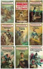 Horatio Hornblower Series 1-3, 5-9, 11 C S Forester Lot of 9 Paperbacks