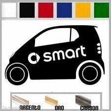adesivo sticker SMART SIDE two  tuning down-out dub decal prespaziato,auto
