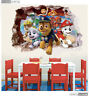 PAW Patrol 3D Kids Nursery Removable Wall Decal Vinyl Stickers Art Home Decor