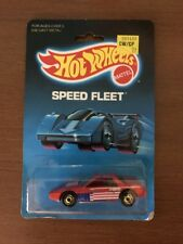 Hot Wheels Fiero 2M4 #1458 Red Star And Stripes Sealed in Blister Pack 1986