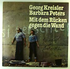 """12"""" LP - Georg Kreisler - Mit Dem Rücken Gegen Die Wand - D659 - cleaned"""