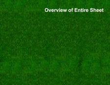 5 Dark Grass Water Scenery Sheets for War Games Including Warhammer 40k