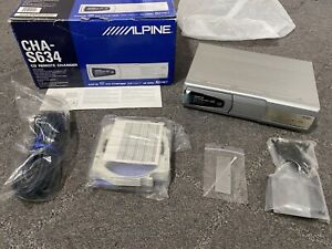 *NEW/OPEN BOX/NEVER USED* Alpine CHA-S634 6-disc Ai-NET CD/MP3 Changer