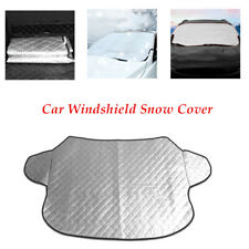 1pcs Car Windshield Cover Sun Shade Winter Snow Ice Rain Dust Frost Guard Sliver