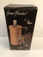Wine Cooler Terra Cotta Clay Wine Bottle Chiller Florence Italy