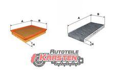 Set S: Innenraumfilter+Luftfilter Inspektionsset OPEL FIAT
