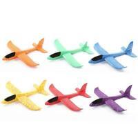 Foam Hand Throw Airplane Outdoor Launch Glider Plane Model Kids Toys 48cm EPP