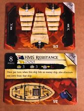 Pirates Of The Caribbean Cards #033 HMS RESISTANCE, Pocketmodel 2 Cards New