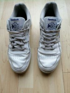 Reebok Men's Athletic Classic White Trainers Size 10