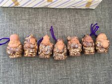 The Seven Lucky Gods or Seven Gods of Fortune shichifukujin Japanese Bell Inside