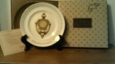 "Vtg Avon 2nd Anniversary Plate-""The Avon Doorknocker""-In Box-Free Shipping"