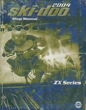 New listing 2004 SKI-DOO SNOWMOBILE ZX SERIES SHOP MANUAL  484 200 053 (631)