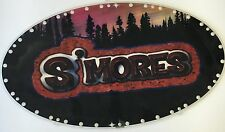 IGT Slot Machine Oval Topper Insert S'MORES