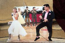 "John Travolta & Olivia Newton-John ""Grease"" Movie Tabletop Display Standee 9"" L"