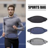 Travel Sport Bum Bag Fanny Pack Hiking Waist Money Belt Zip Pouch Wallet Unisex