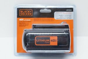 Genuine BLACK+DECKER 40v 40 Volt Max 1.5 Ah Lithium Ion (Li-Ion) Battery LBX1540