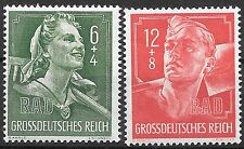Nazi Germany Third Reich Mi# 894-895 MNH Labor Corps 1944 **