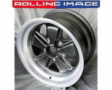 Fuchs 911 930 944 Rear Wheel 15x8 Et15 Matte Black Porsche Fuch Style Mx180015ra