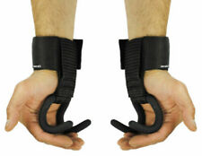 Guanti, cinghie e ganci sollevamento pesi neoprene per allenamento di resistenza e pesi
