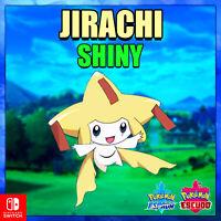 Jirachi Shiny Pokémon evento legendario Espada y Escudo Entrega Rapida