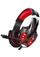 Pro LED Gaming Headset for PS4, PC, Xbox One Controller (a)