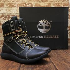 TIMBERLAND LIMITED RELEASE FLYROAM TACTICAL MEN LEATHER BOOT BROWN TBOA1NK3