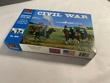 IMEX # 602 Civil War Union & Confederate Cavalry Set 1:72 Scale 61 Pieces