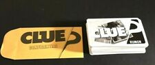 Clue Discover The Secrets Replacement Cards and Case File Complete 2008 Game