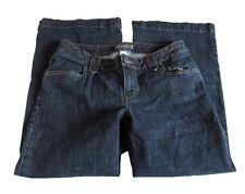 Women's Venezia Wide Leg Back Flap Pocket Trouser Jeans Plus Size 1 Petite (14P)