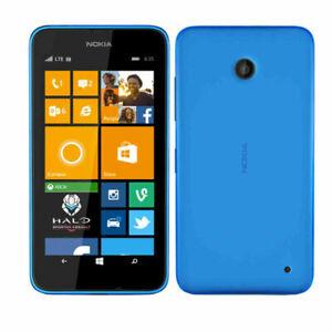 Nokia Lumia 635 Blue Windows Quad-Core 4G LTE 8GB Unlocked (Cricket) Smartphone