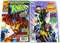 Marvel UNCANNY X-MEN #350 FN/VF 353 VG/FN RARE NEWSSTAND LOT Ships FREE!