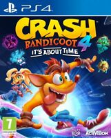 Crash Bandicoot 4 PS4 PS5 - [Digital Download *Primary-Principal*] Multilanguage