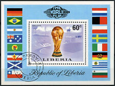 Football Liberian Stamps