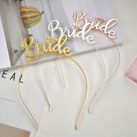 Team Bride Bridesmaid Headband Bride To Be Tiara Crown Hen Party Wedding Gift
