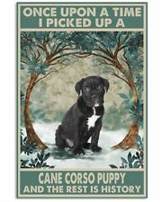 Cane Corso Puppy Once Upon A Time Poster