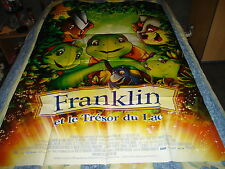 AFFICHE  ANIMATION / FRANKLIN ET LE TRESOR, tortue