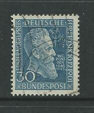 WEST GERMANY # 686 Used NOBEL PRIZE FOR PHYSICS (0010)