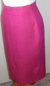 Smart Eye-Catching Lined Pencil Skirt - Perfect for Business - Size XS UK 8