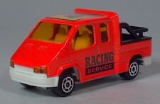"Majorette 243 Ford Transit Racing Service 3"" Die Cast 1:60 Scale Model France"