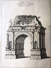 BLAEU. Theatrum Statuum Regiae Aosta,Arco de américa' Augusto vista
