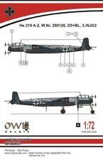 Owl 1/72 Heinkel He-219A-2 D5+BL # S7222
