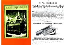 Ww Greener 1893 Chicago Exhibition Gun Catalog (England)