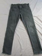 Levi 511 Super Slim Skinny Fit Faded Denim Jeans Tag 31x32 Measure 31x32
