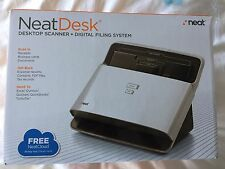 Neat ND1000 NeatDesk Scanner and Digital Filing System PC and MAC ND 1000