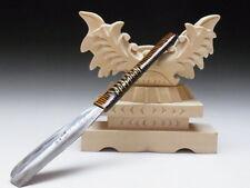 Medium Blade! Shave Ready! TAMAHAGANE NAGAMASA J*apanese Straight Razor #A-195